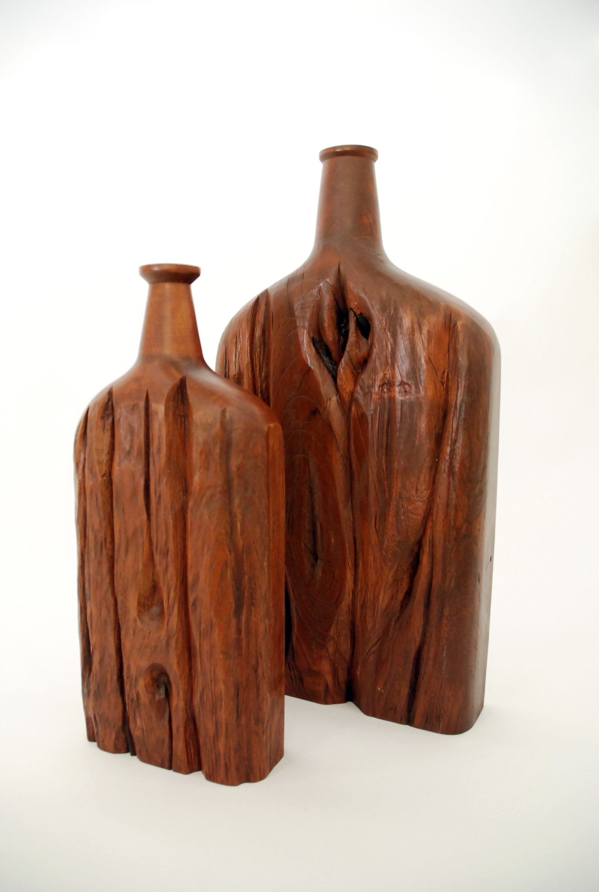 WEATHERED TEAK BOTTLES